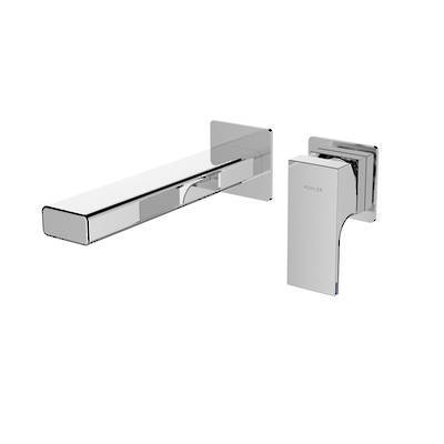 Strayt Wall Mount Bath Mixer