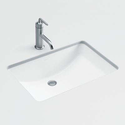 Ladena Undercounter Basin in White
