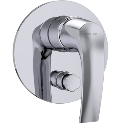 Symbol Bath and Shower Mixer with Diverter