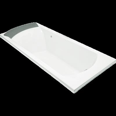 Ove Rectangular Drop-In BubbleMassage Bath