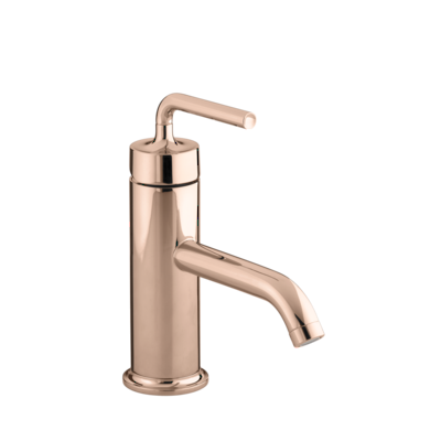 Purist Basin Mixer - PVD Rose Gold