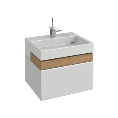 Terrace Vanity 600mm with Single Basin