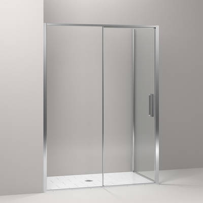Torsion Square Corner Sliding Showers