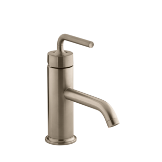 Purist Basin Mixer Vibrant Brushed Bronze
