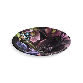 Dutchmaster in Midnight Floral on Carillon Round Vessel