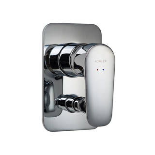 Aleo Bath and Shower Mixer with Diverter - Slim Trim