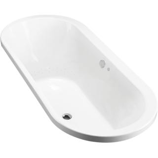Evok Oval Drop-In BubbleMassage Bath