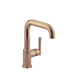 Purist Kitchen Mixer Rose Gold