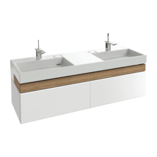 Terrace Vanity 1500mm - Double Basin