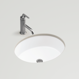 Verticyl Oval Undercounter Basin 486mm