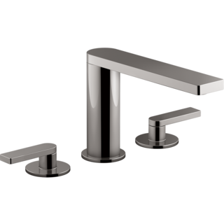Composed 3TH Bath Set-Lever Handle Titanium Spare Parts