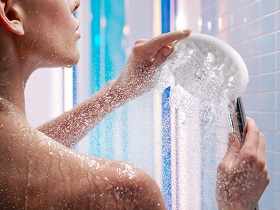 Exhale Slide Shower