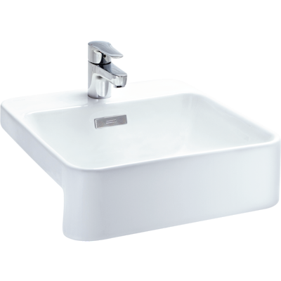Forefront Square Semi-Recessed Basin