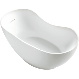 Abrazo Lithocast Oval Freestanding Bath